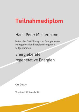 Teilnahmeurkunde, Teilnehmerurkunde selbst erstellen bei urkunden-online.de