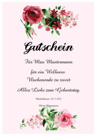 Geschenkgutscheine Terminkarten Kundenkarten Wellness Spa 6