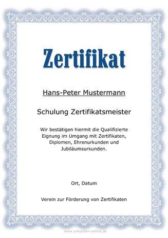 Teilnahme Zertifikat Vorlagen Zum Selber Ausdrucken Urkunden Onlinede